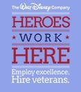 Does Disney hire Veterans? Disney jobs for military members.
