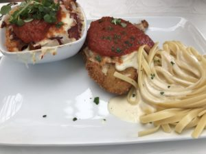 Walt Disney World's Magic Kingdom's Italian Trio at Tony's Town Square Restaurant