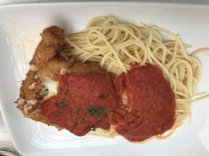 Walt Disney World's Tony's Town Square Restaurant Chicken Parmigiana