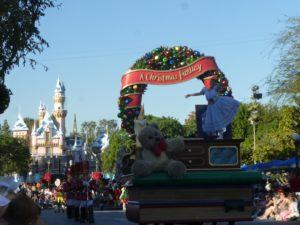 A Christmas Fantasy Parade at Disneyland Resort