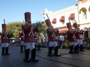 Toy soldiers at Disneyland