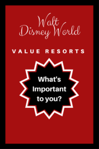 top reasons to stay at a Disney value resort