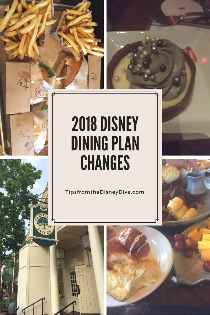 New 2018 Disney Dining Plan Changes Now With Alcohol