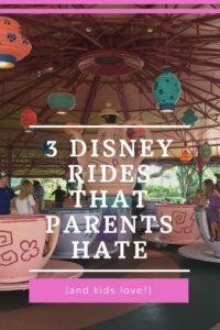 Walt Disney World rides kids love, parents, fastpass, lines