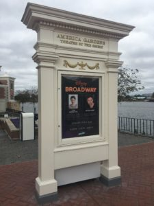 Epcot Festival of the Arts, World Showcase, Broadway Concert Series, Music