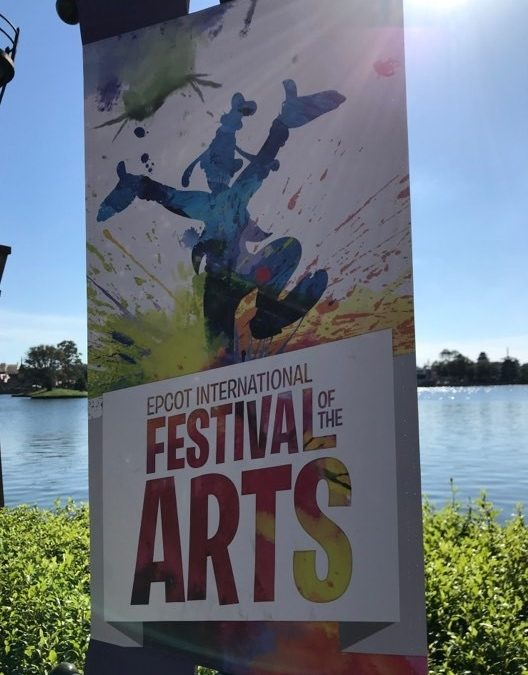 Throwback Thursday: Snacking Your Way around the World at Epcot's International Festival of the Arts
