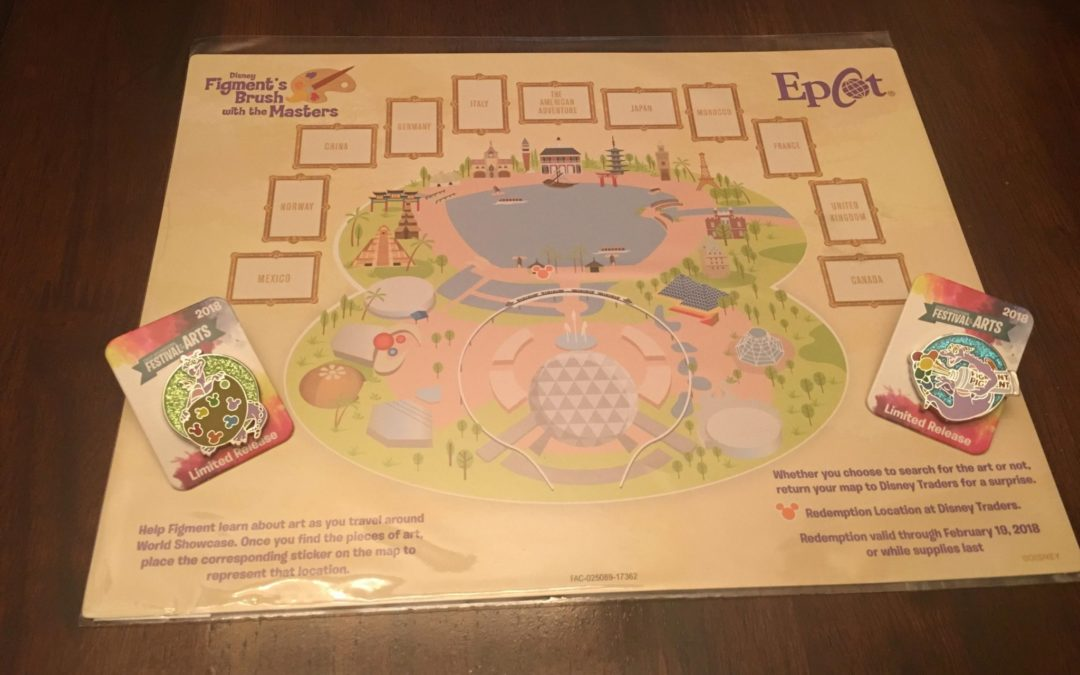 Throwback Thursday: Figment's Brush with the Masters Scavenger Hunt at Epcot