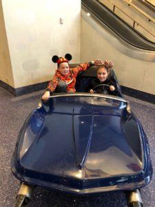 Disneyland Hotel Autopia Car