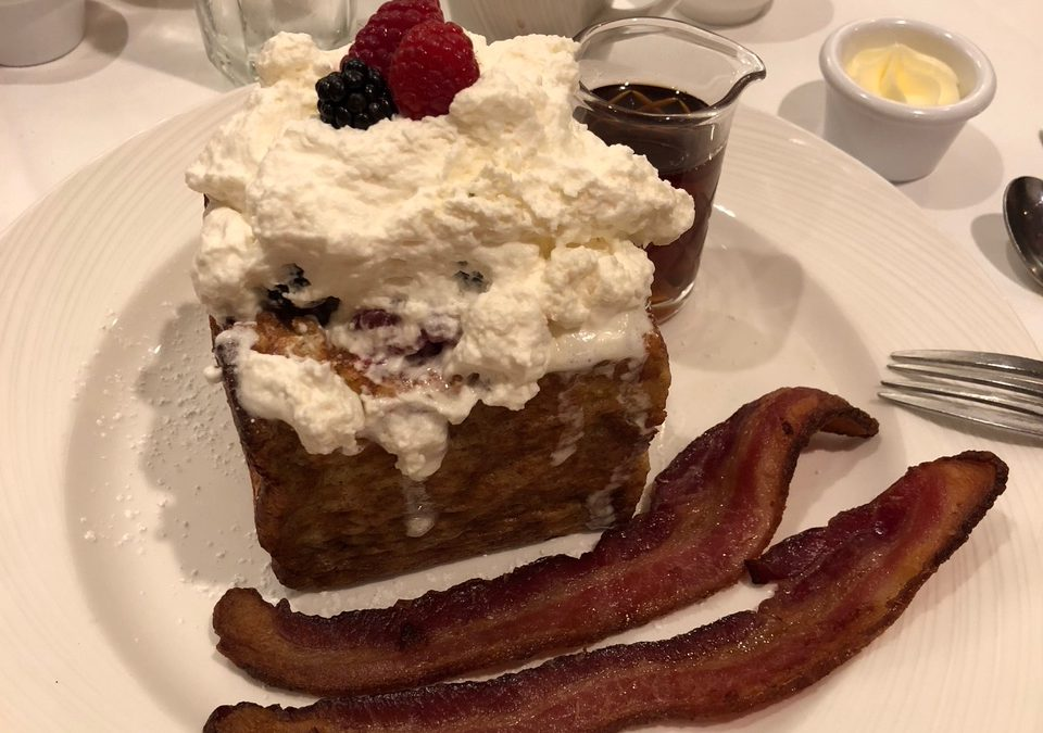 Steakhouse 55 at the Disneyland Hotel for Breakfast? Absolutely!