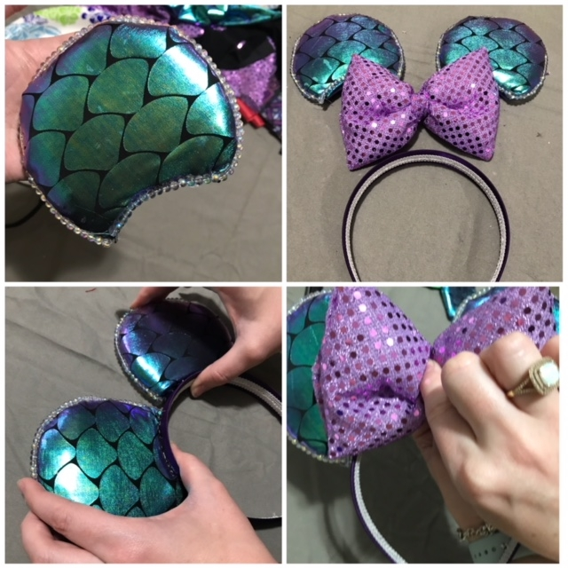 The Magic Starts At Home Diy Minnie Ears For Your Next