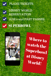Where to watch football at Disney World