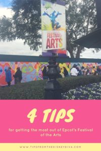 Epcot Festival of the Arts, Expression Section, hands on art, free family fun