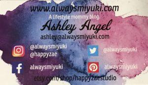 Social Media links for Happy Zae Studio