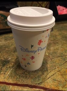 Pixie Hollow Diva's Coffee Picks in Disney World