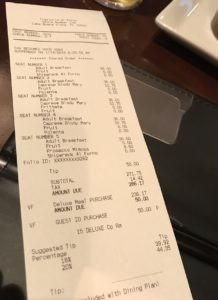 How the Disney Deluxe Dining Plan Saved Me over $600!