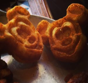 Gluten-Free mickey mouse shaped waffles