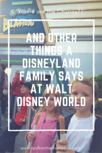 And Other Things a Disneyland Family Says at Walt Disney World
