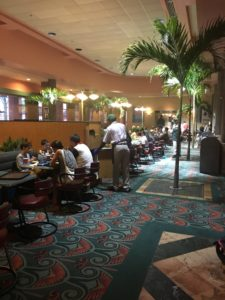 Disney Hollywood Studios ABC Commissary counter service restaurant indoor dining room