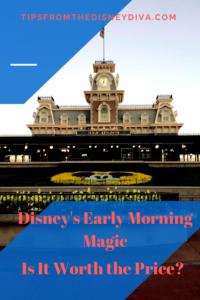 Early Morning Magic at Walt Disney World's Magic Kingdom