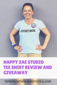 Hand made tee shirt by Happy Zae Studio for Walt Disney World