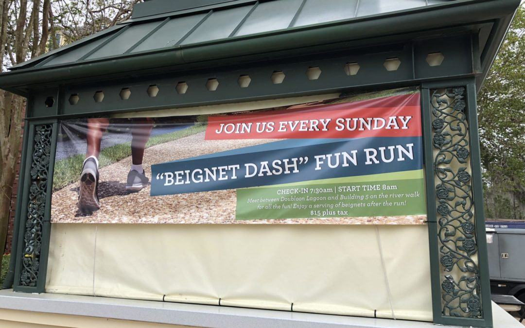 I Will Run for Beignets at Disney's Port Orleans French Quarter Resort