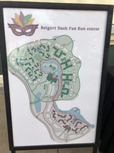 Beignet Dash Fun Run Course