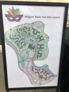 Beignet Dash Fun Run Course