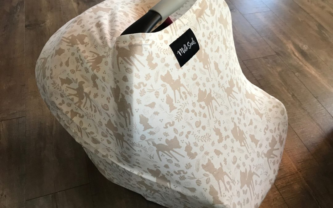 Milk Snob Infant Car Seat Cover Review And Giveaway