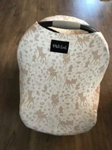 Milk Snob Infant Car Seat Cover Review and Giveaway!