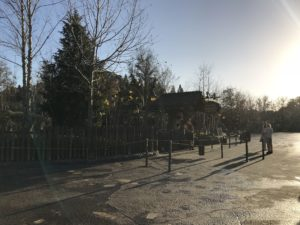 An Empty Fantasyland at Early Morning Magic