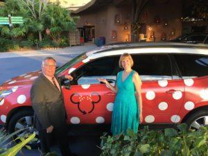 Disney Transportation Minnie Vans