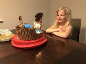 DIY Moana Cake