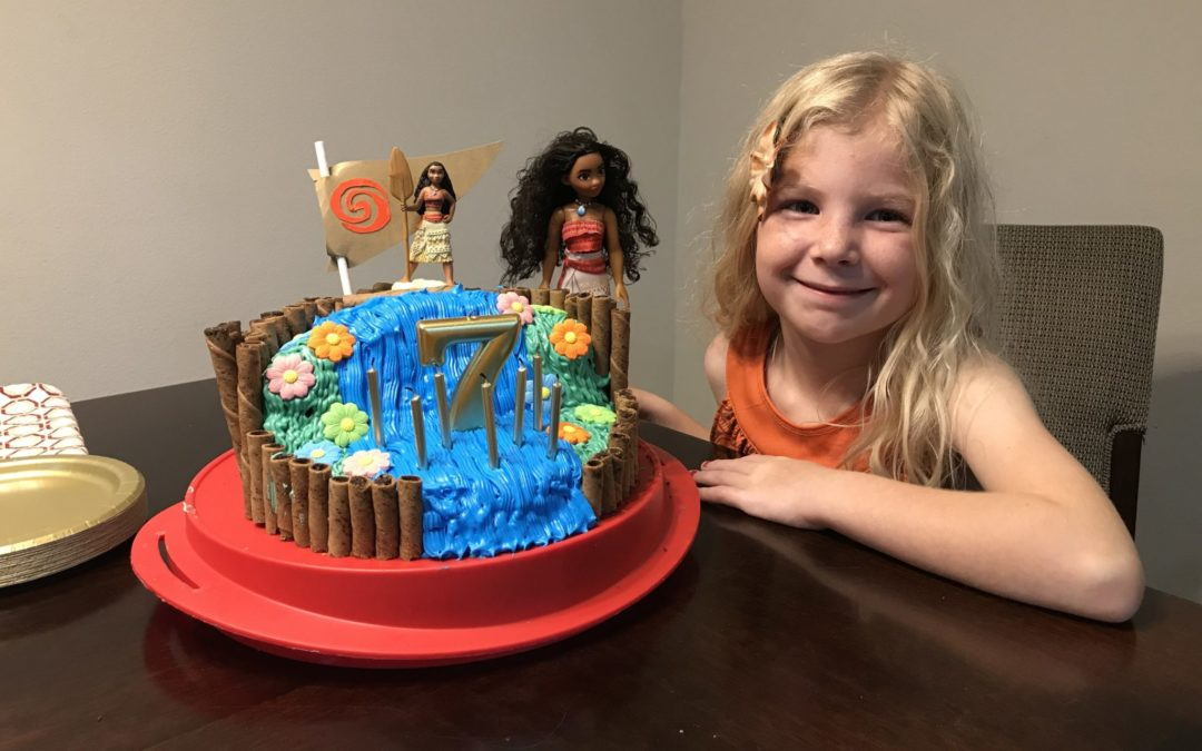 Make Way for this Easy DIY Moana Cake