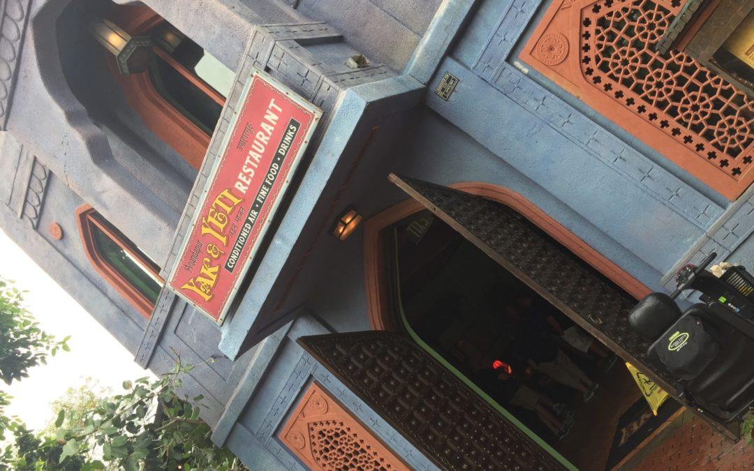 Devo Cabdisney's Yak & Yeti Restaurant Review