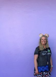 Tomorrowland Purple Wall