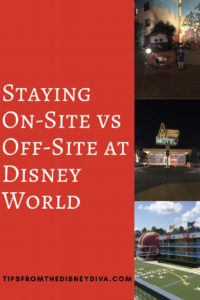 Staying On-Site vs Off-Site at Disney World