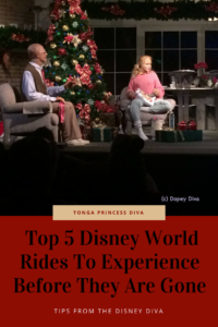 Top 5 Disney World Rides To Experience Before They Are Gone