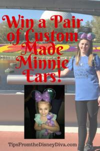 Win A Pair of Custom Made Minnie Ears!