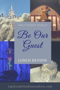 Be Our Guest Lunch
