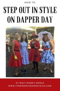 Dapper Day at Walt Disney World, DisneyBound, cosplay