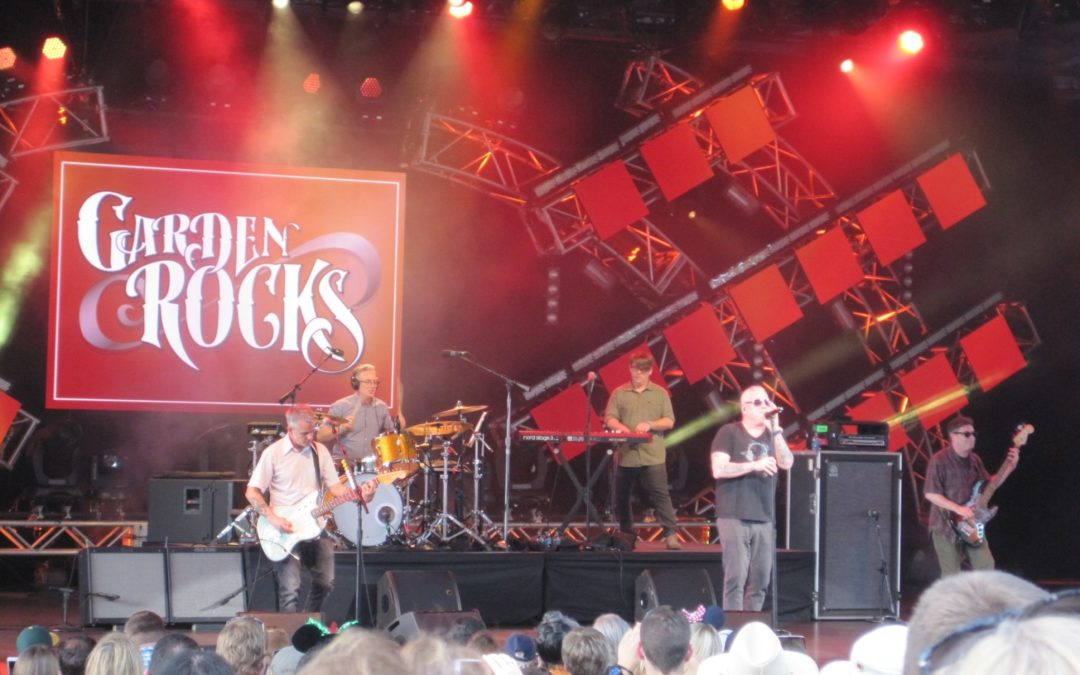 Throwback Thursday: Rockin' Out at Epcot's Garden Rocks Concert Series