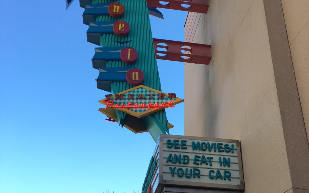 Check off Your Bucket List by Eating at Sci-Fi Dine-In Theater Restaurant