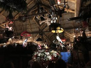 Animatronics inside Walt Disney's Enchanted Tiki Room