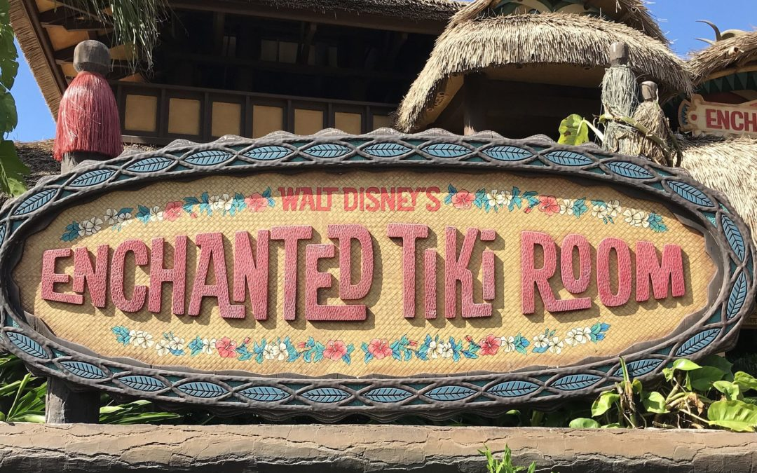 Take Time For Walt Disney's Enchanted Tiki Room