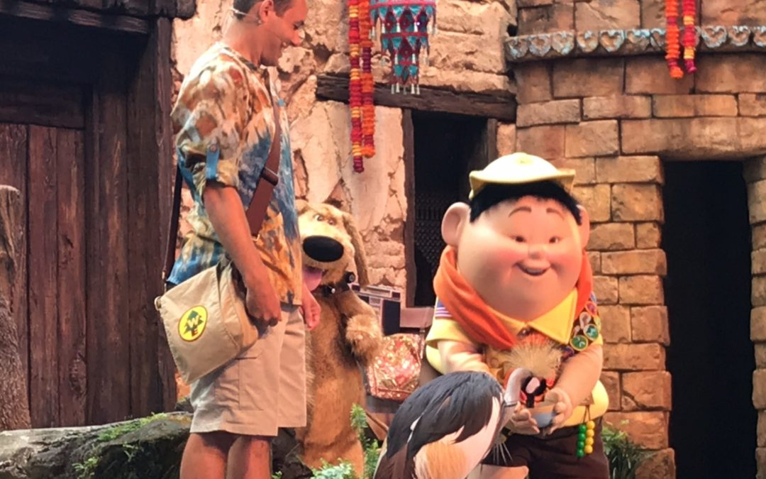 """UP! A Great Bird Adventure"" Takes Flight at Disney's Animal Kingdom"