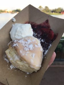 Snacks at Epcot International Flower & Garden Festival