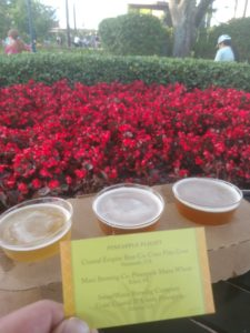 Snacking at the Epcot International Flower & Garden Festival