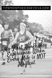My First RunDisney: Every Mile is NOT Magical