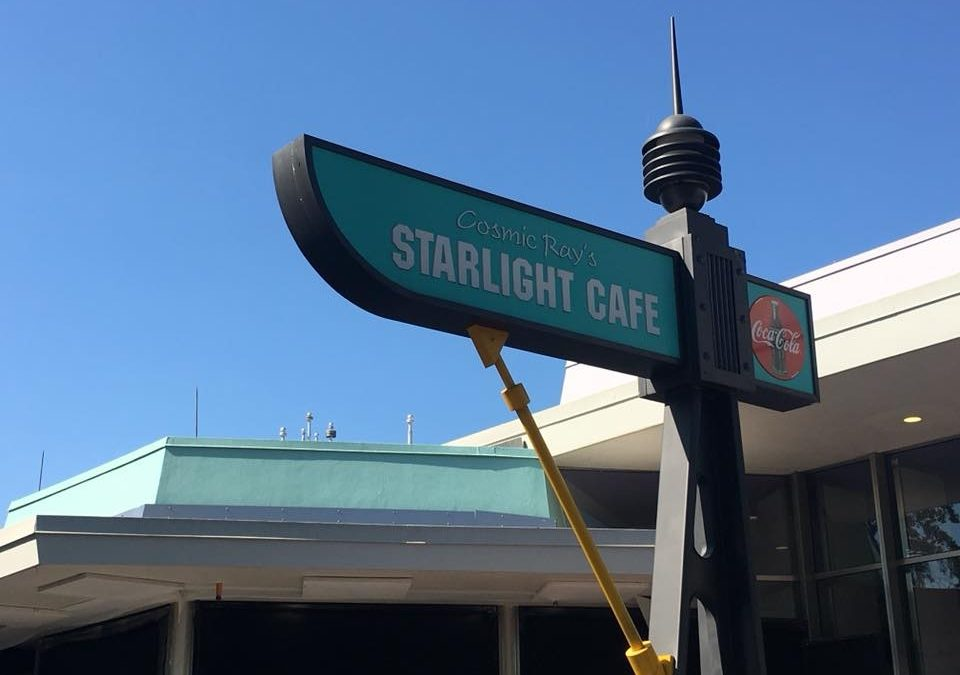 Cosmic Ray's Starlight Cafe Is Out Of This World!