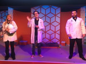 Epcot's Spectaculab Scientists, Future World Innoventions East, science and technology, STEM, STEAM, kids, hands on